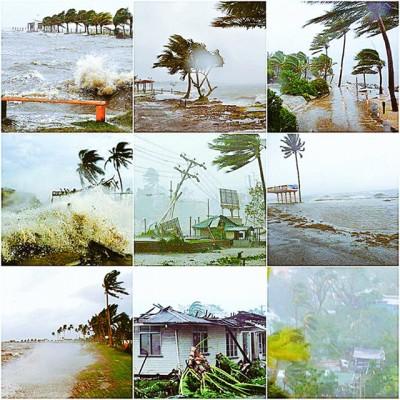 Cyclone Winston devastation in Fiji