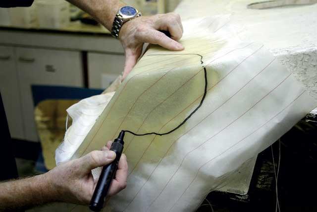 Repairing holes in GRP - Practical Boat Owner