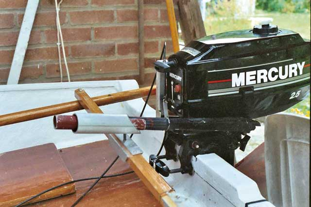 Yamaha Outboard Remote Steering Conversion