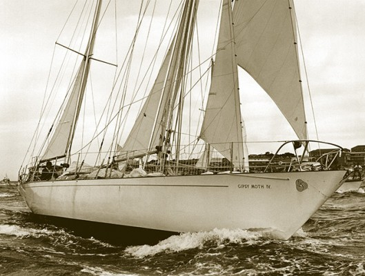 Gipsy Moth IV. Credit: Chichester Archive/PPL