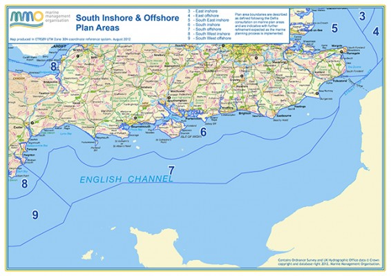 MMO South Inshore and Offshore Plan Areas