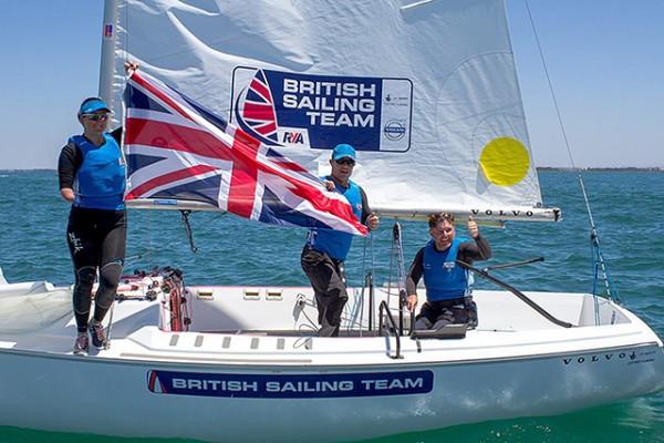 The British Sonar Team - Hannah Stodel, Stephen Thomas and John Robertson ©Teri Dodds Photography