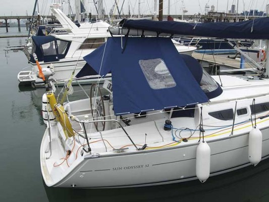 Make A Boom Tent For Your Cockpit Practical Boat Owner