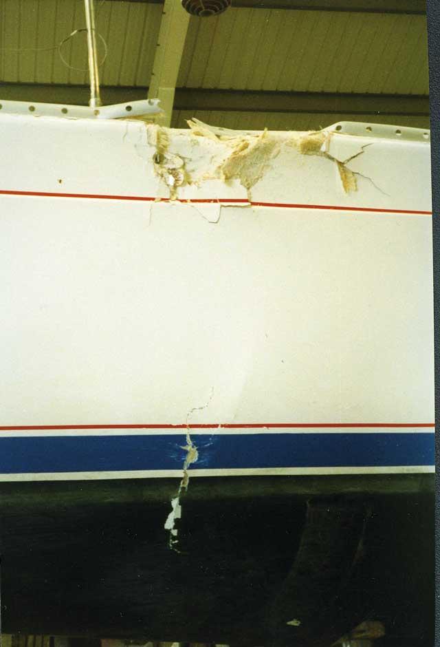 10 Fiberglass GelCoat Boat Repair images   fiberglass