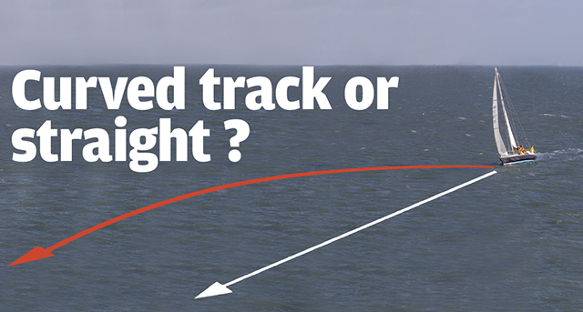 Nav in a Nutshell: Curved track or straight?