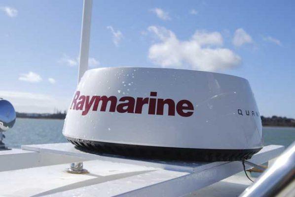 Raymarine Quantum pulse compression radar: tested