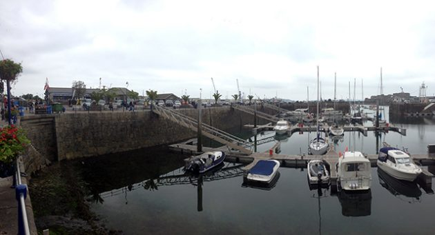 Crown Pier, Guernsey Harbour. Credit: Steve Falla