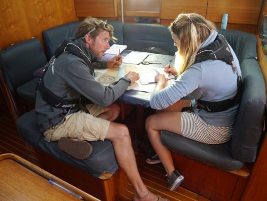 PBO's Laura Hodgetts on a Day Skipper Practical course with UKSA
