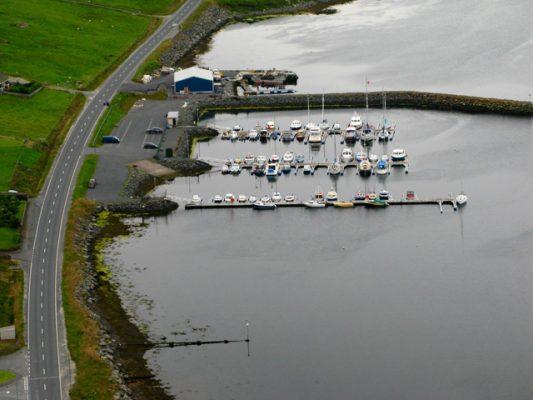 East Voe Marina
