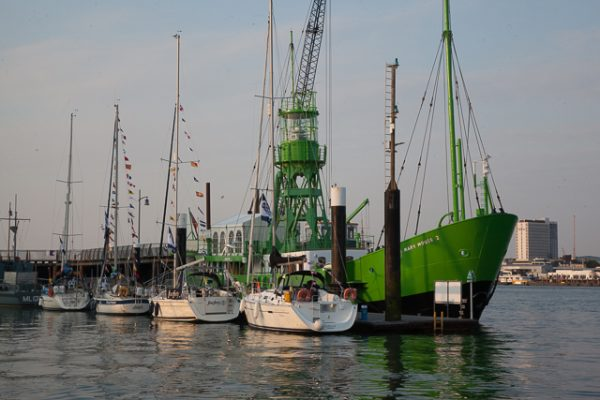 ARC Channel Islands 2016 boats at Gosport's Haslar Marina
