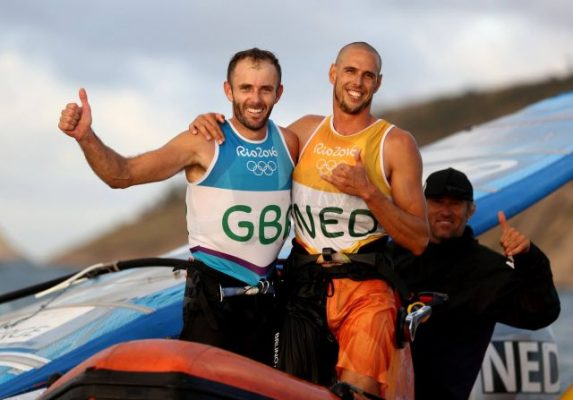 Nick Dempsey and Dorian Van Rijsselberghe © Richard Langdon/British Sailing Team