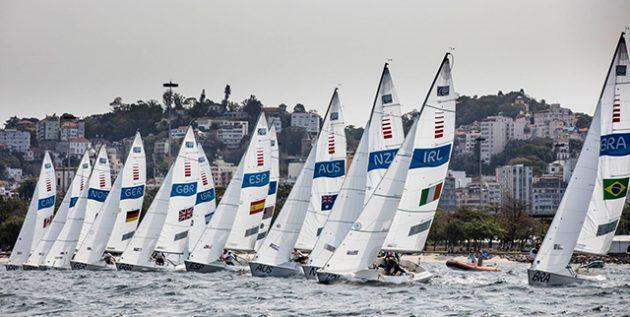 Racing at the Rio Paralympic Games sailing regatta. Credit: Richard Langdon/World Sailing