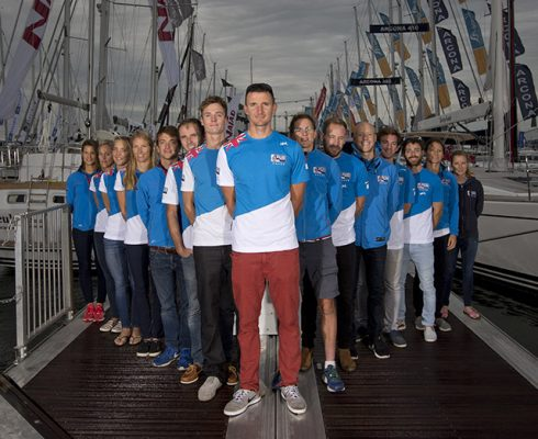 Team GB sailors open the Southampton Boat Show. Credit: onEdition