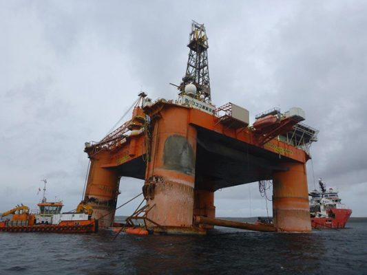 Transocean Winner. Picture: Danny Pendry/Marine Scotland