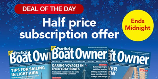 Half-price subscription offer
