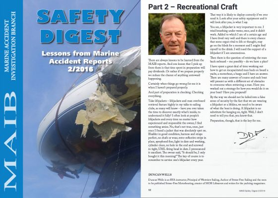 MAIB Safety Digest