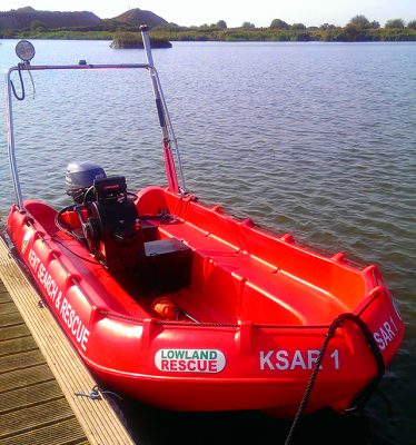 Kent Search and Rescue's new boat KSAR1