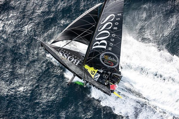 Alex Thomson's yacht Hugo Boss © Cleo Barnham/Hugo Boss/Vendee Globe