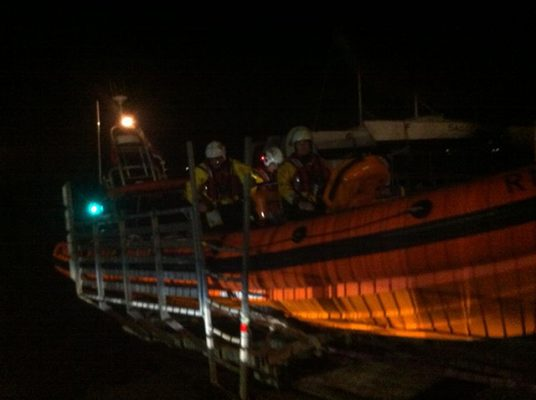 Cowes RNLI lifeboat