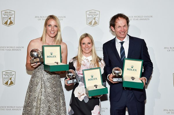 Rolex World Sailor of the Year Award winners 2016
