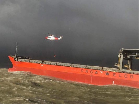 RNLI Dover and Dungeness assist Coastguard in major incident. Credit-rnli-crewman-mark-hamilton