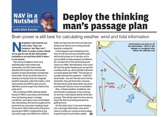 Nav In A Nutshell Deploy The Thinking Mans Passage Plan