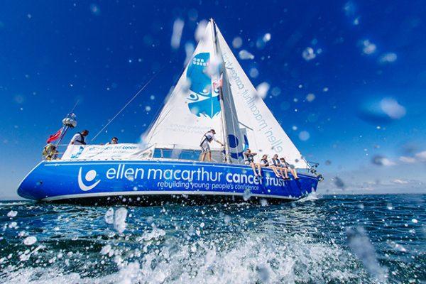 Ellen MacArthur Trust yacht Moonspray (c) Martin Allen Photography