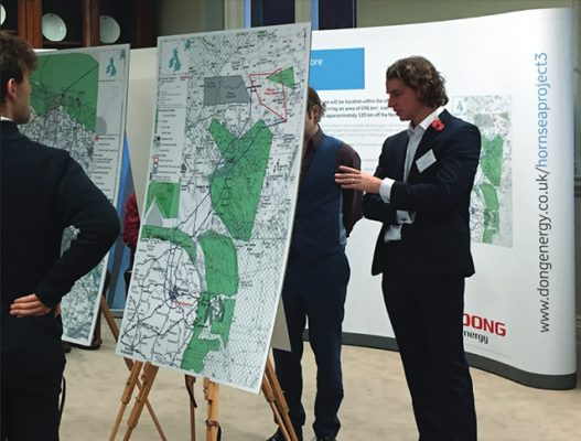 Hornsea Project Three Offshore Wind Farm consultation events