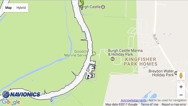 Burgh Castle Marina
