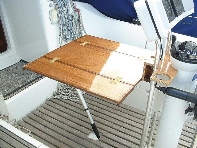 Cockpit table for a binnacle - Practical Boat Owner | 640 x 480 jpeg 155kB