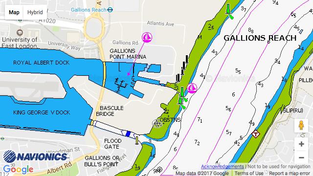 Gallions Point Marina
