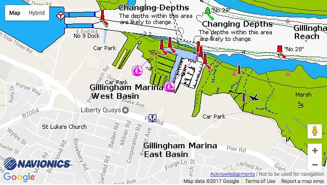 Gillingham Marina