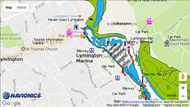 Berthon Lymington Marina