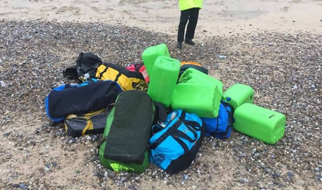 £50m cocaine found on Norfolk beaches