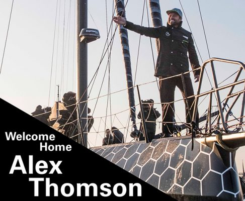 Alex Thomson homecoming
