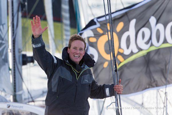 Conrad Colman. Photo credit: Jean-Marie Liot/DPPI/Vendee Globe