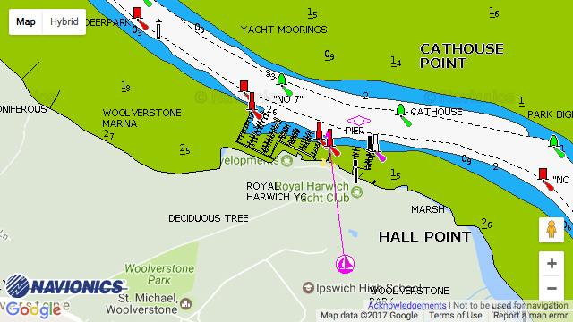 Woolverstone Marina