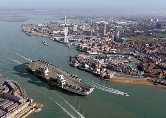Portsmouth Harbour. Credit Haslar Marina