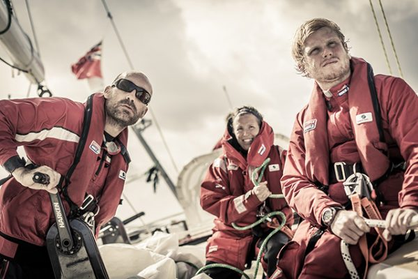 Leg 5 - Clipper Round the World Yacht Race 13/14. Credit: Brian Carlin