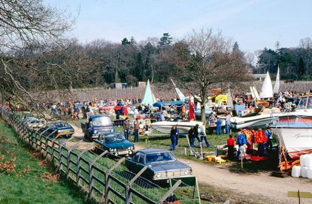 The very first Beaulieu Boatjumble in 1978