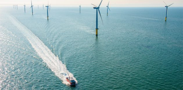 Offshore wind farm. Credit The Crown Estate