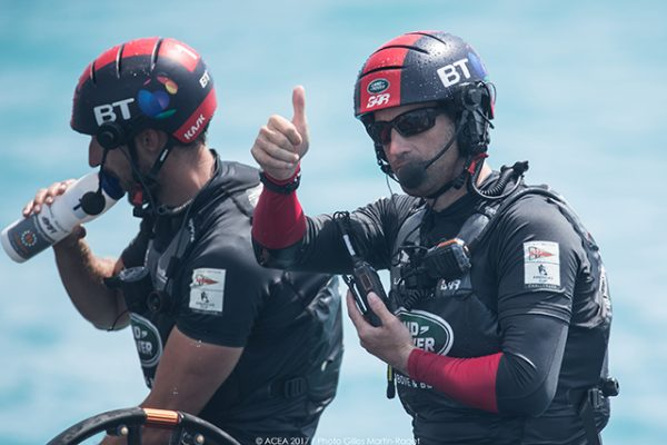 Sir Ben Ainslie at the Louis Vuitton America's Cup Qualifiers, Day 4. © ACEA 2017/Photo Ricardo Pinto