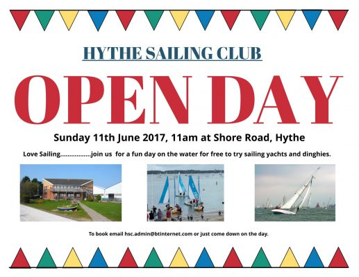 Hythe Sailing Club Open Day