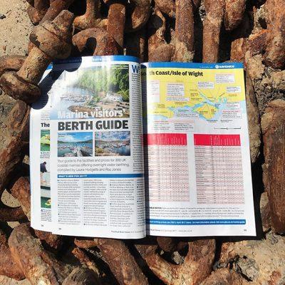 PBO Marina Visitors Berth Guide. Pic credit: WicorMarine/Twitter