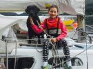 Coco and Kiki ready for a Scottish voyage on Hurley 22, 'Inca' Craig Pagett