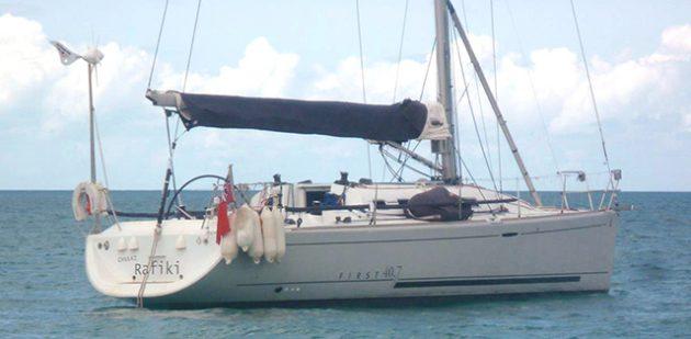 Cheeki Rafiki yacht. Credit: Royal Yachting Association/Press Association Images