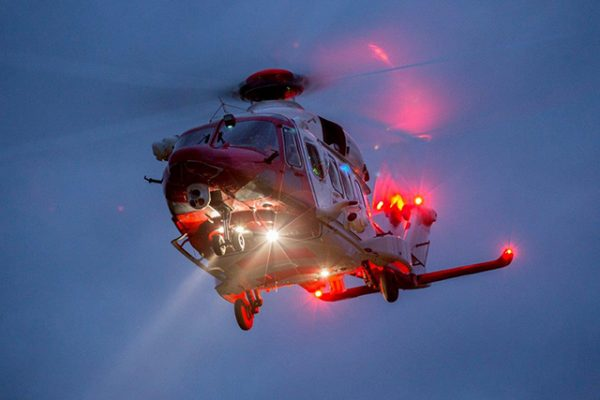 Witness appeal after laser pen is pointed at Coastguard helicopter