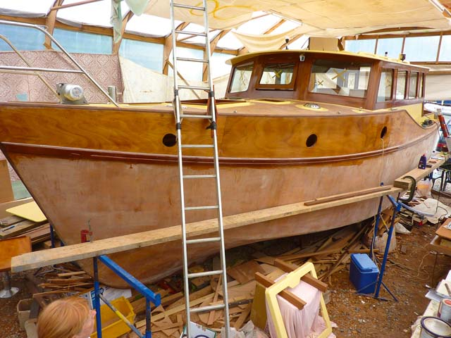 A labour of love: building and designing Thea - Practical Boat Owner