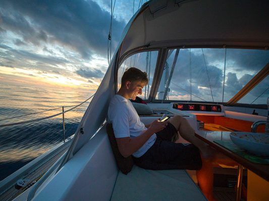 Wifi on your boat: how to get online on the water this