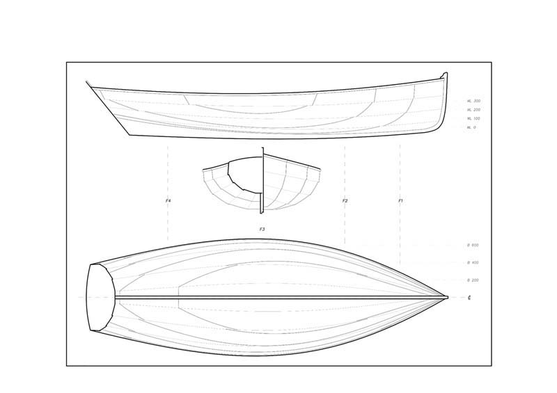 Free boat plans – Build your own Nigel Irens 14ft rowing and